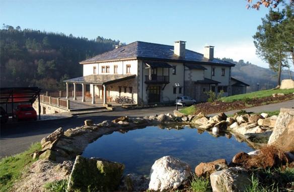 Imagen del Rio Pambre Hotel Balneario, en plena comarca de Ulloa, Lugo.